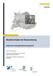 Modellvorhaben der Raumordnung - Verband Region Stuttgart