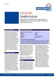 Graffiti-Schutz - Remmers Polska Sp. z oo
