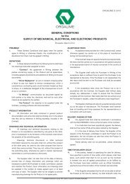 General Conditions - VMT GmbH
