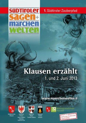 pdf downloaden - Volksbühne Klausen