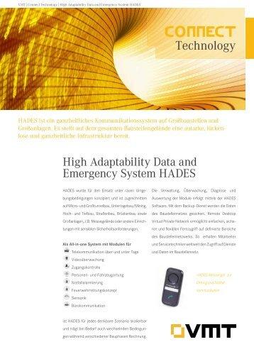 HADES Produktdatenblatt - VMT GmbH