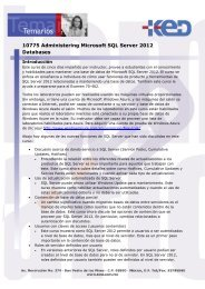 10775 Administering Microsoft SQL Server 2012 Databases