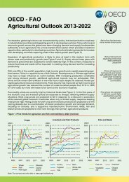 OECD - FAO Agricultural Outlook 2013-2022
