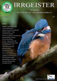 IRRGEISTER - Verein für Natur