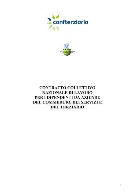 Ccnl Commercio Terziario Confterziario