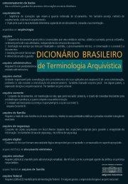 Dicionário Brasileiro de Terminologia Arquivística - Arquivo Nacional