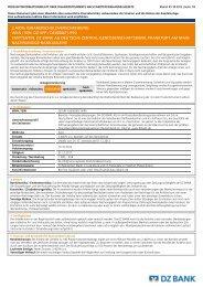 dz bank ag deutsche zentral-genossenschaftsbank - Volksbank Dill eG