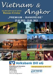 Weber Vietnam Kambodscha 2012 ... - Volksbank Dill eG