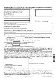 Freistellungsauftrag für Kapitalerträge und ... - Volksbank Dill eG