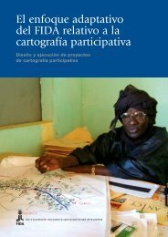 El enfoque adaptativo del FIDA relativo a la cartografía ... - IFAD