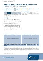UniEuroRenta Corporates Deutschland 2019 A - Volksbank Dill eG