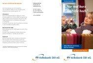 Unsere Kontopreise in der Übersicht - Volksbank Dill eG