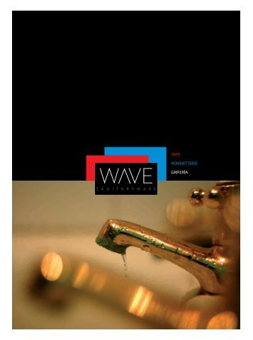 MAQUETA wave griferia - go products