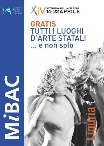 Liguria - Ministero per i Beni e le Attività Culturali