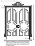 #Double doors with cartouche line drawing with text - Pearlworks ... - Page 2