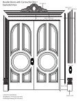 #Double doors with cartouche line drawing with text - Pearlworks ... - Page 3