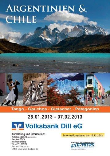ARGENtiNiEN & CHILE - Volksbank Dill eG