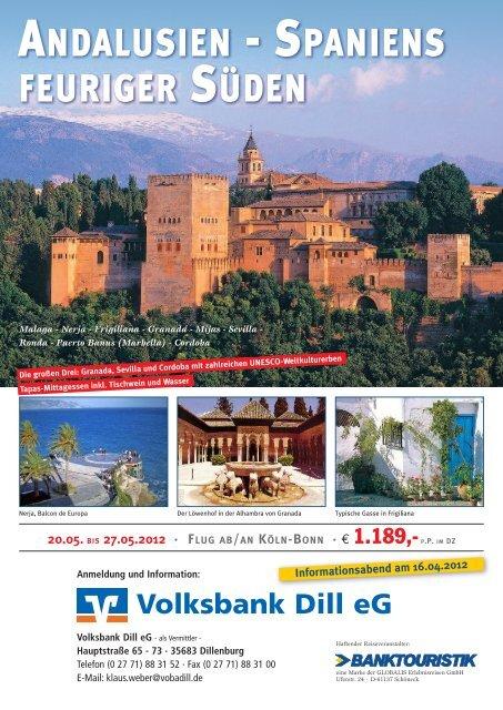 4 Seiten - Volksbank Dill eG