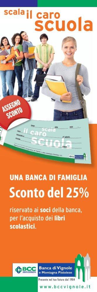"""""""Scala il caro scuola"""" 2012 - BCC Vignole"""