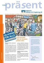 Internationales Jahr der Genossen- schaften 2012 - Volksbank ...