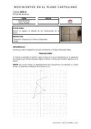MOVIMIENTOS EN EL PLANO CARTESIANO - educastur.princast