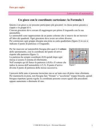 Un gioco con le coordinate cartesiane: la Formula 1