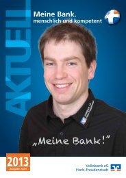 """""""Meine Bank! """" - Volksbank eG Horb-Freudenstadt"""