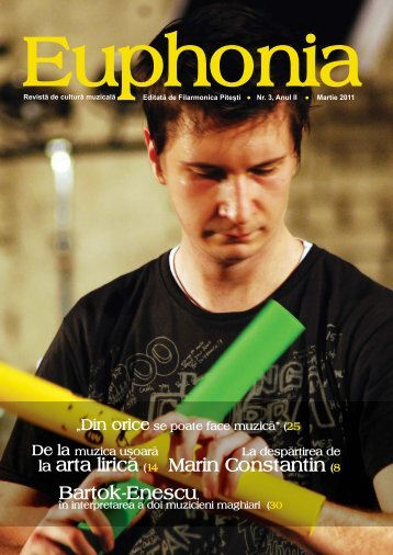 revista Euphonia - Filarmonica