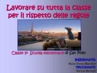 Lavorare su tutta la classe per il rispetto delle ... - USP di Piacenza