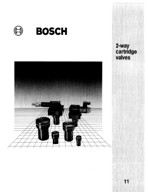 2-way Cartridge Valves - Bosch Rexroth on