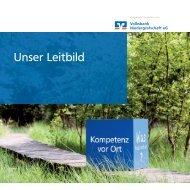 Unser Leitbild (Download 2,4 MB) - Volksbank Niedergrafschaft eG