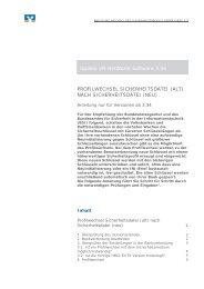 Anleitung Profilwechsel VR-NetWorld Software ab Version 3.34