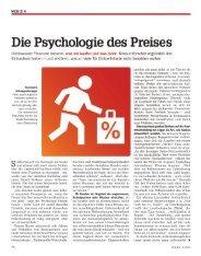 Die Psychologie des Preises - Vocatus AG