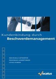 Beschwerdemanagement - Vocatus AG