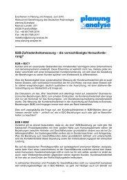 B2B-Zufriedenheitsmessung - die vernachlässigte ... - Vocatus AG