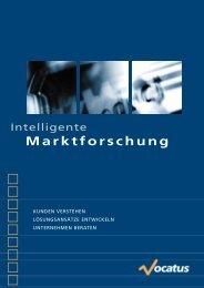 Marktforschung - Vocatus AG