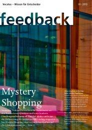 Mystery Shopping Feedback lesen - Vocatus AG