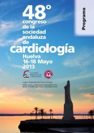Programa - 48º Congreso de la Sociedad Andaluza de Cardiología