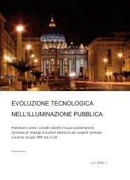 Evoluzione tecnologica nell'illuminazione pubblica - Canale Energia