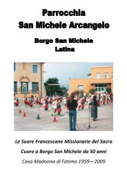 Anteprima - Parrocchia San Michele Arcangelo - Borgo San Michele