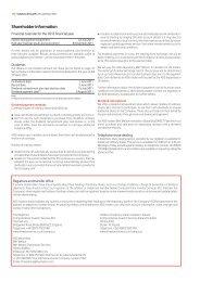 Shareholder information - Vodafone
