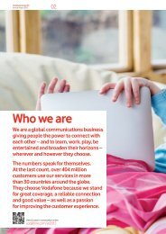 Business review - Vodafone