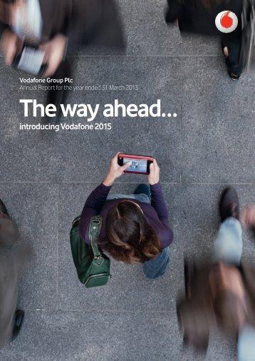 The way ahead? - Vodafone
