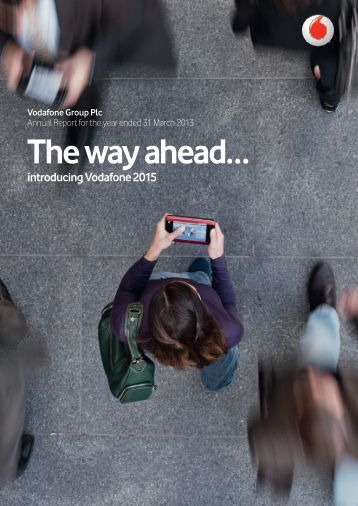 The way ahead? - Vodafone