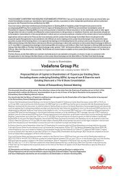 VOD822 Circular to Shareholders v12 - Vodafone