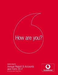 Annual Report ? 31 March 2002 (PDF 1.03MB) - Vodafone