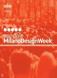 Scarica il file PDF dello speciale Milano Design ... - A+D+M Network