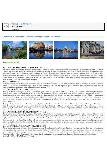 Catalog circuite Avion - Agentia Camel Tour