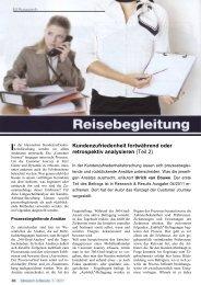 Kundenzufriedenheit fortwährend oder retrospektiv ... - Vocatus AG