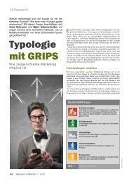 Typologie mit GRIPS Typologie - Vocatus AG